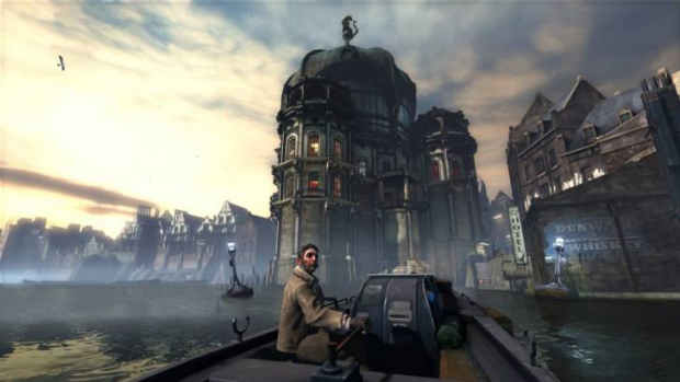 Dishonored's reliable boatman, Samuel, is a barometer of your positive or negative effect on the world around you.