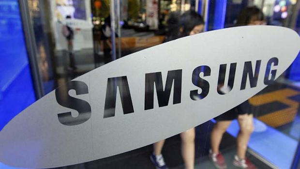 Patent wars ... Samsung is locked in a battle with Apple.