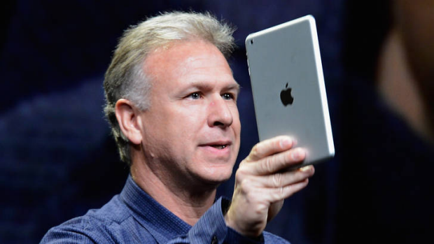 Apple's senior vice president of worldwide product marketing, Phil Schiller.