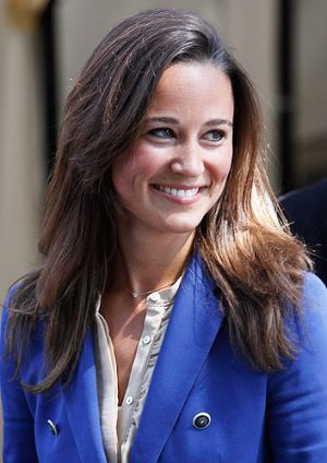 Pippa Middleton admits the global recognition she's received is 'a bit startling'.