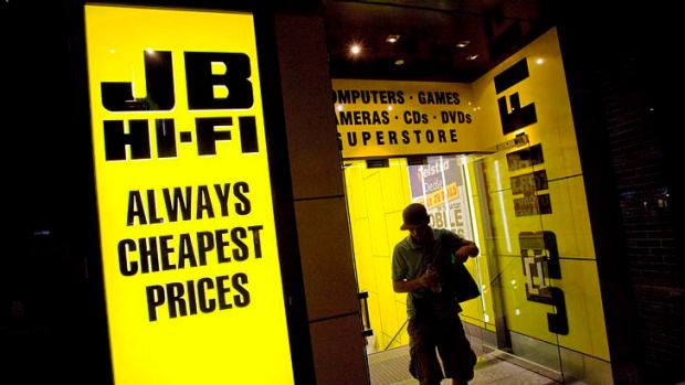 JB Hi-Fi can shift sales online but the sector in which it operates is at a tipping point.