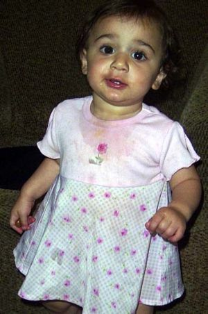 Missing since 2005 ... 20-month-old Rahma El-Dennaoui.
