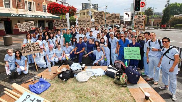 Domestic and international medical students have revolted against suggested international medical students pay for the ...