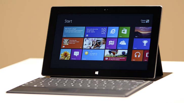 Mixed response ... Microsoft's Surface tablet.