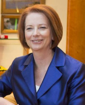 Said to have been directly undermining her leader before she challenged him ... Julia Gillard.