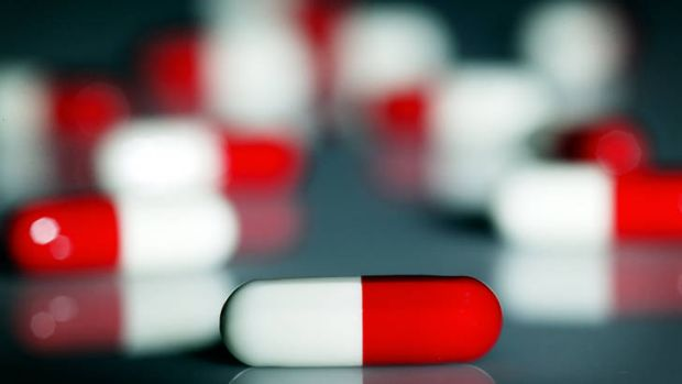 Bitter pills ... probiotics replenish some, but not all, bacteria after antibiotic use.