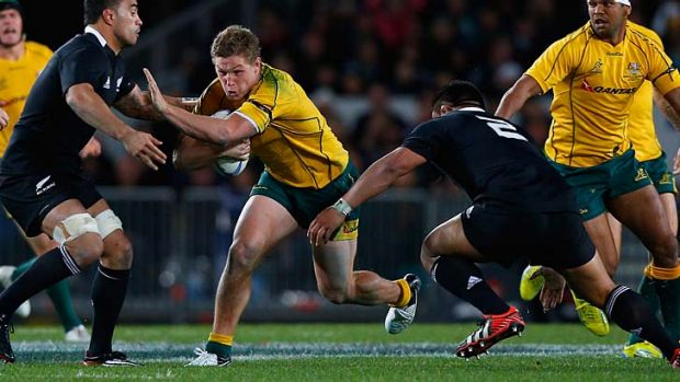 Prominent ... Michael Hooper's rise has been so fast that previously unthinkable scenarios, such as moving David Pocock ...