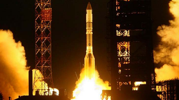 The Briz-M rocket stage exploded in mid-October, two months after causing a launch of telecom satellites to fail.
