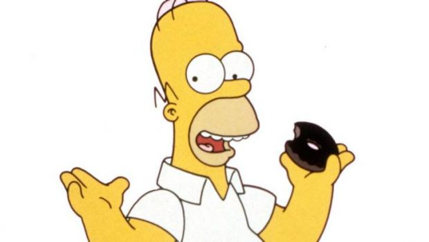 """Homer Simpson ... """"I already got one wife telling me to eat healthy."""""""
