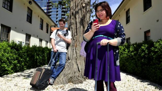 Grant Alexander and Stephanie-Krystle Chin descend on Canberra ready to tweet.