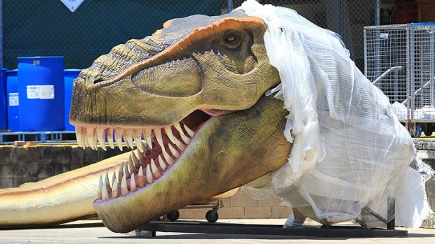 Palmer Coolum Resort reveals its first Dinosaur.