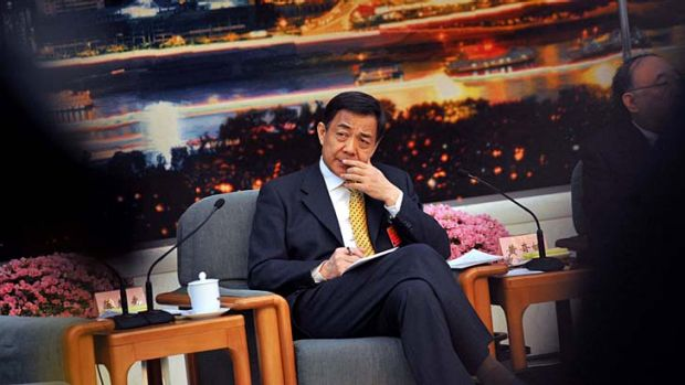 The maverick princeling and great red hope ... Bo Xilai.