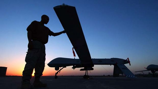Under fire ... the United Nations will be establishing a dedicated unit to investigate the legality of recent US drone ...