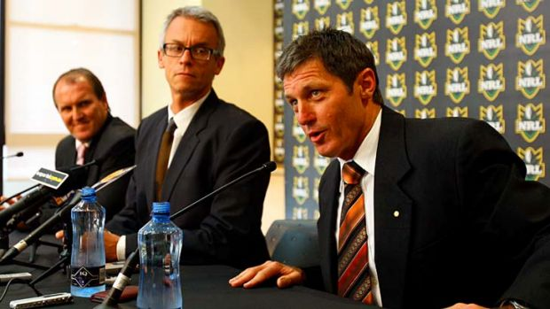 In the past ... Stuart Raper and Bill Harrigan are appointed in 2010.