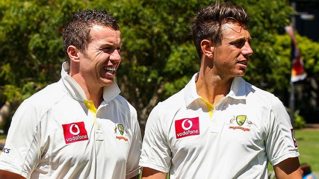 Peter Siddle and James Pattinson will need to match the South African quicks this summer.