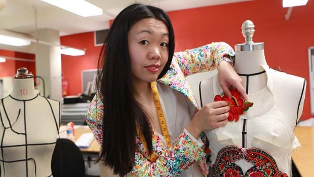 Measured up ... Bei Na Wei says studying at TAFE has been more challenging than her university years.