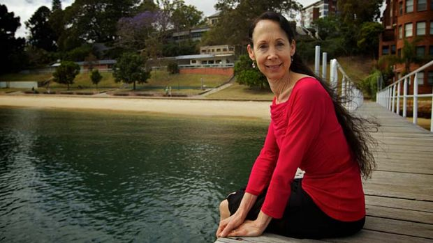 ''I was in two different senses of reality'' … Jodi Rose at the newly named Murray Rose Pool at Double Bay, where ...