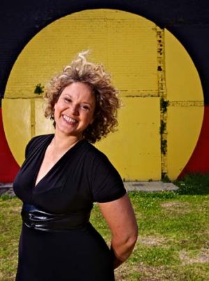 Brand new adventure … Leah Purcell stars in the ABC series about urban indigenous people.