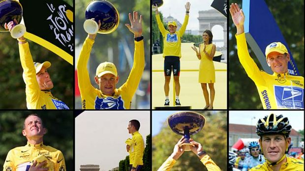 Moments of glory, moments of shame: AFP pictures taken (left to right, top to bottom) in 2005, 2004, 2003, 2002, 2001, ...