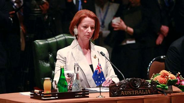 Focused ... Julia Gillard has a plan to secure Australia's future in Asia.