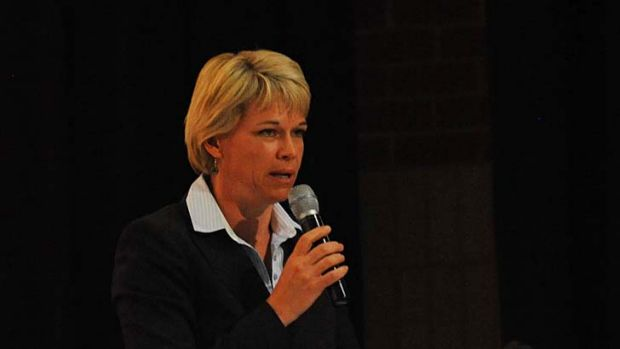 Concerned ... the Minister for Primary Industries, Katrina Hodgkinson.