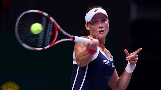 Team player ... Sam Stosur is hoping for a better year after a disappointing run.