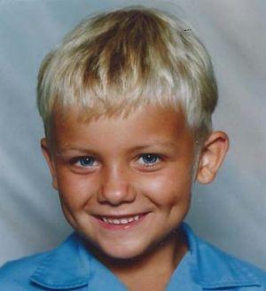 Adam Everill in his primary school days.