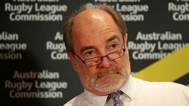 """We'd hope the plan provides leadership across the game"" ... ARL Commission chairman John Grant."