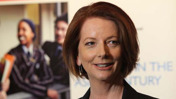 Better polling and an altered political climate mean Gillard can shrug off questions about Maxine McKew's allegations.