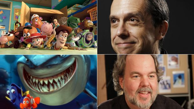 World first …  <Em>Toy Story</em>, top left, blazed a trail for all computer-generated movies that followed, such ...