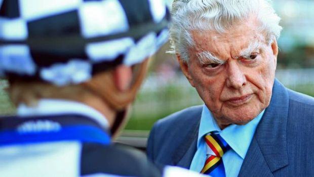 The master: Bart Cummings looks likely to have two Melbourne Cup runners.