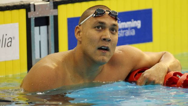Retired: Geoff Huegill has called it quits again.