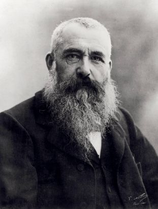 Portrait of Claude Monet (1841-1926) 1901.  Photo by Nadar, (Gaspard Felix Tournachon)
