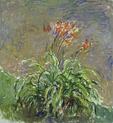 Hemerocallis, 1914-17 (oil on canvas). Monet, Claude (1840-1926)
