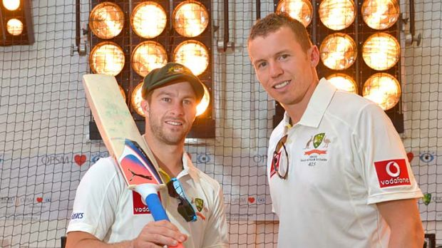Tests in sight: Matthew Wade and Peter Siddle are gearing up to take on South Africa.