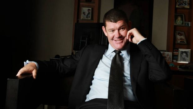 James Packer: Gaming revenue is on the rise.
