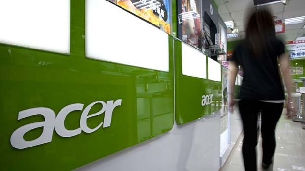 Holding back ... Acer has delayed its Windows RT tablets.