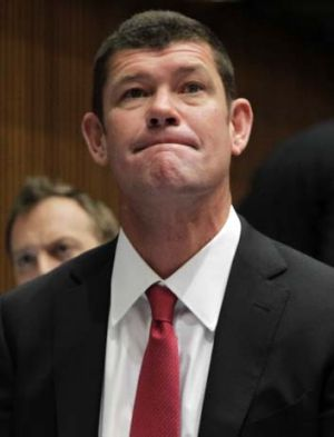 Well connected ... James Packer.