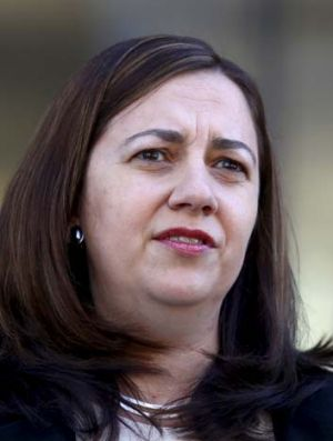 Queensland opposition leader Anastasia Palaszczuk.