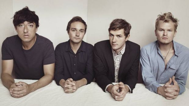 Critically acclaimed … Grizzly Bear's Ed Droste, Daniel Rossen, Christopher Bear and Chris Taylor.