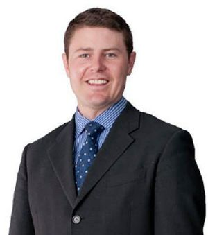 Suspended from his lobbyist job ... Rowland employee Jonathon Flegg, son of Bruce Flegg.