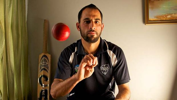 Taliban danger ... Fawad Ahmed received death threats in his homeland.