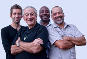 (From left) Matt Stubbs, Charlie Musselwhite, June Core and Mike Philips.