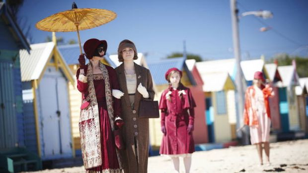 Marion Boyce, costume designer for <i>Miss Fisher's Murder Mysteries</i>, will speak about the wardrobe she created for ...