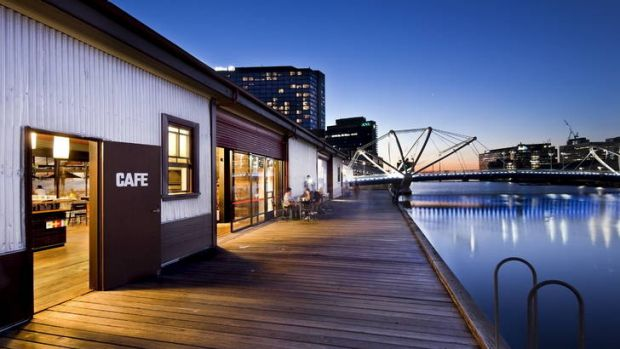 The Boatbuilders Yards at  South Wharf.