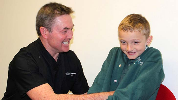 Suffered severe hypertension due to a combination of kidney and liver conditions ... Matthew Gaythorpe, right, with Ian ...