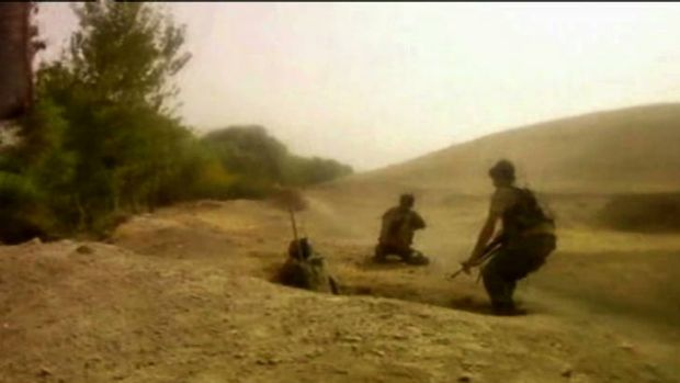 A patrol of some 15 Australians encountered a Taliban group during a recce through Derapet, about 20 kilometres west of ...