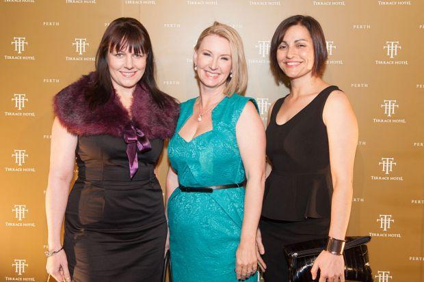 Michelle Milton, Tracey Cinavas-Prosser and Laura Scafidi.