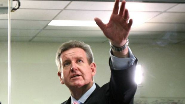 Reaching out to the Indian IT sector... NSW Premier Barry O'Farrell has lent his backing on a new internship program.