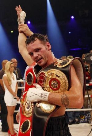 Daniel Geale has lost WBA super-middleweight title due to his fight with Anthony Mundine.